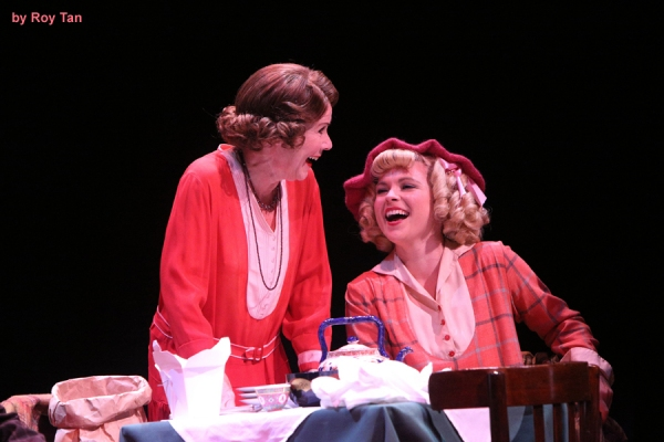 Imelda Staunton as Rose and Gemma Sutton as June