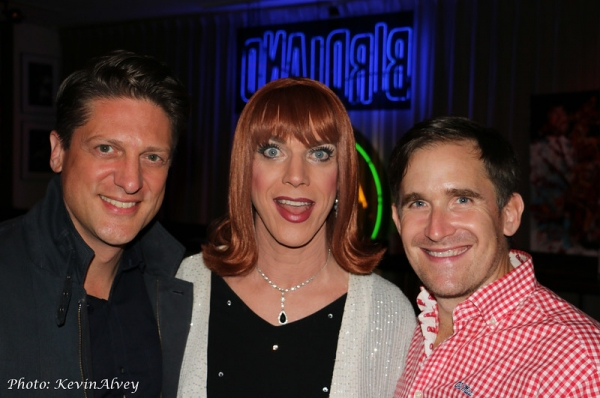 Chris Sieber, Miss Coco Peru and Kevin Burrows