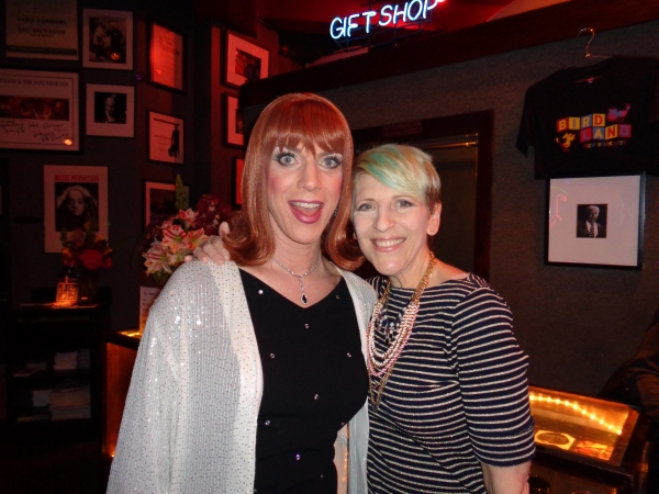 Miss Coco Peru and Lisa Lampanelli