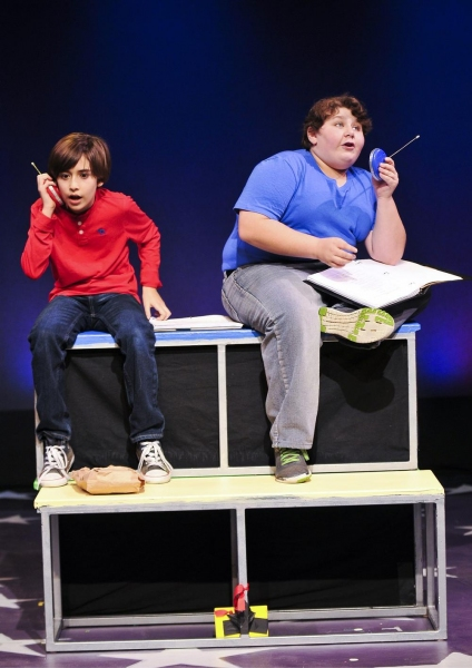 Hayden Wall as Young Josh and Jeremy Shinder as Billy Photo