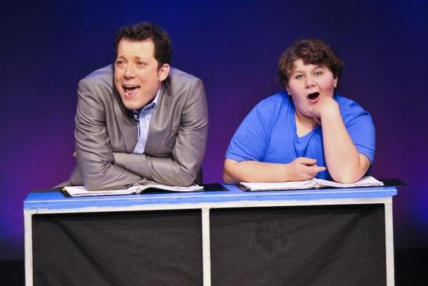 John Tartaglia as Josh and Jeremy Shinder as Billy Photo