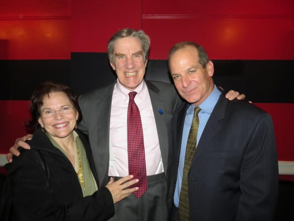 Beth McDonald, her husband, Nick Wyman (president of Actors Equity) and John Bolger