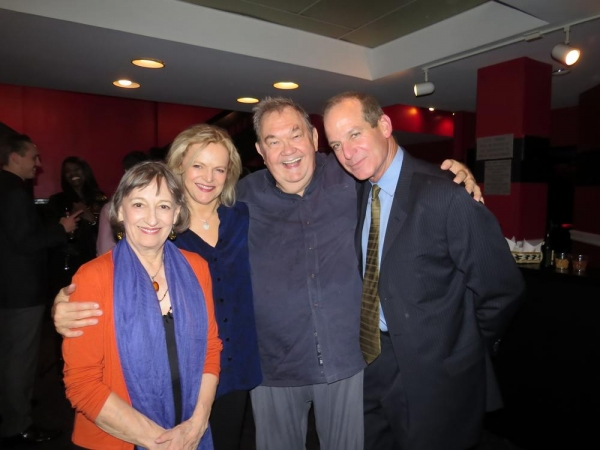 Patricia Conolly, Ellen McLaughlin, David Schramm and John Bolger