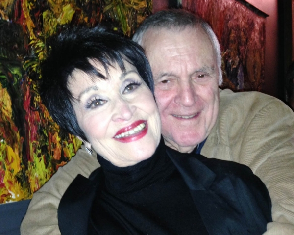Chita Rivera, John Kander (photo by Merle Frimark)