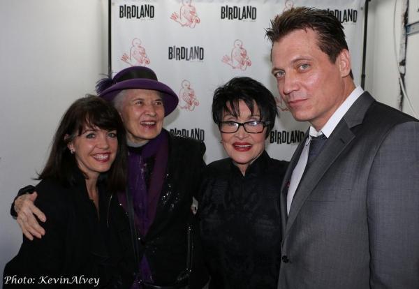 Deborah Lynn, Julie Wilson, Chita Rivera, Holt McCallany Photo