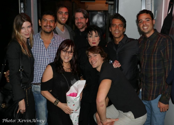 Joe Digiovanni, Chita Rivera, Richard Amaro, Lisa Mordente, and friends