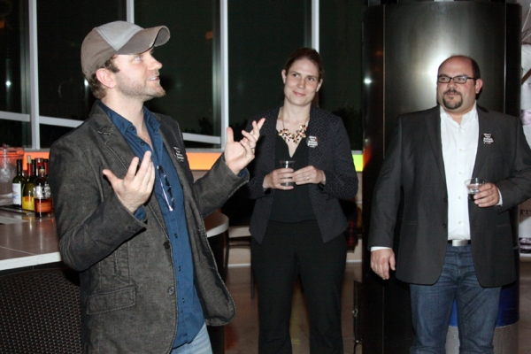 Lenny Banovez - Director/TITAN Artistic Director, Taryn Sacramone - Managing Director Photo