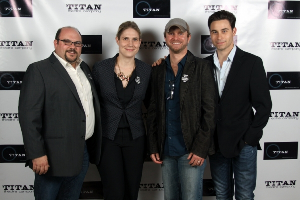 Kevin Beebee - Producer/TITAN Managing Director, Taryn Sacramone - Managing Director Queens Theatre, Lenny Banovez - Director/TITAN Artistic Director & Sean Hudock* - Resident Actor/TITAN Director of Marketing