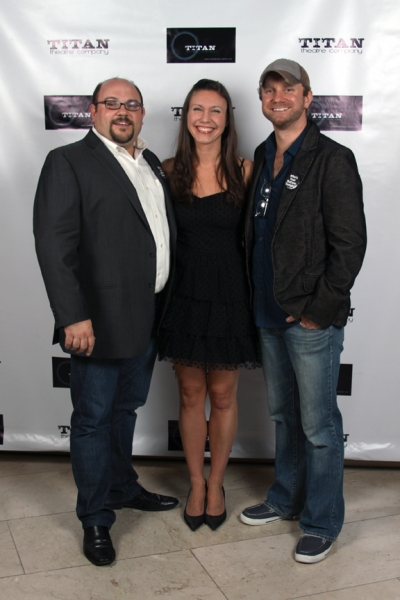 Kevin Beebee - Producer/TITAN Managing Director, Alyssa Van Gorder - Stage Manager/TITAN General Manager & Lenny Banovez - Director/TITAN Artistic Director