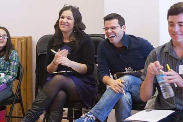 Lindsay Mendez and Marc Tumminelli