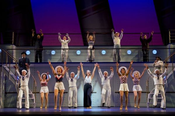 Photo Flash: First Look at Emma Stratton and More in ANYTHING GOES National Tour