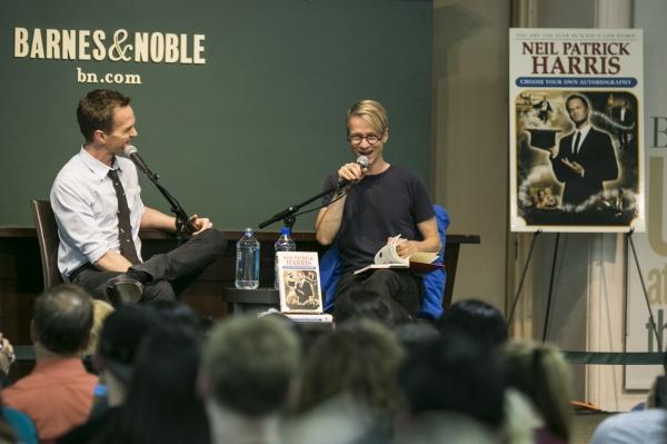 Neil Patrick Harris and John Cameron Mitchell