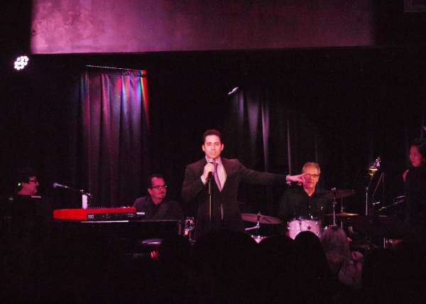Photo Coverage: John Lloyd Young AN EVENING FOR FRIENDS At Sterling's Upstairs At The Federal In North Hollywood