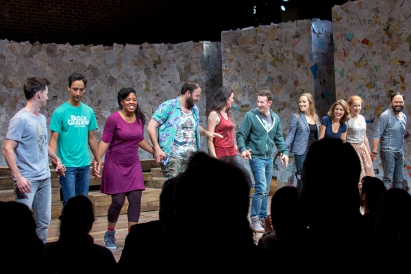 Photo Coverage: FOUND Cast Takes Opening Night Bows at Atlantic Theater Company!