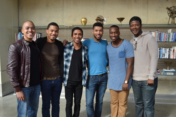 Photos: Meet the Cast of Arena Stage's FIVE GUYS NAMED MOE