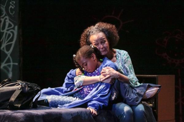 Taliyah Whitaker and Lizan Mitchell