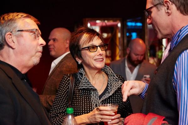 New York publicist Sam Rudy, Cinderella producer Robyn Goodman, Cinderella Director Mark Brokaw