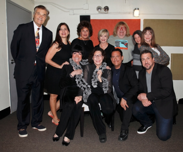 Fred Willard, Dayle Reyfel, Lainie Kazan, Florence Henderson, Bruce Vilanch, Mindy Co Photo
