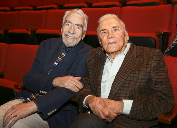 CTG Founding Artistic Director Gordon Davidson and Kirk Douglas