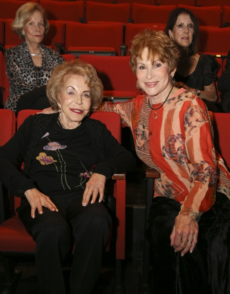 Anne Douglas and Judi Davidson