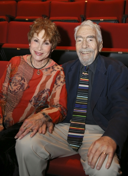 Judi Davidson and CTG Founding Artistic Director Gordon Davidson