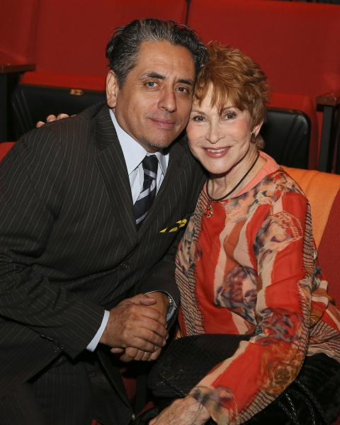 Actor Richard Montoya and Judi Davidson