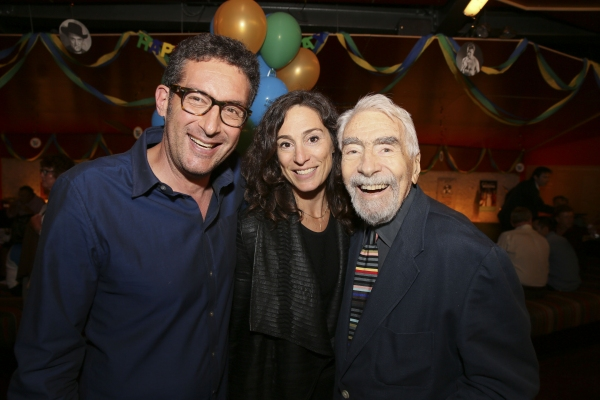 Jeff Janger, Rachel Davidson and CTG Founding Artistic Director Gordon Davidson