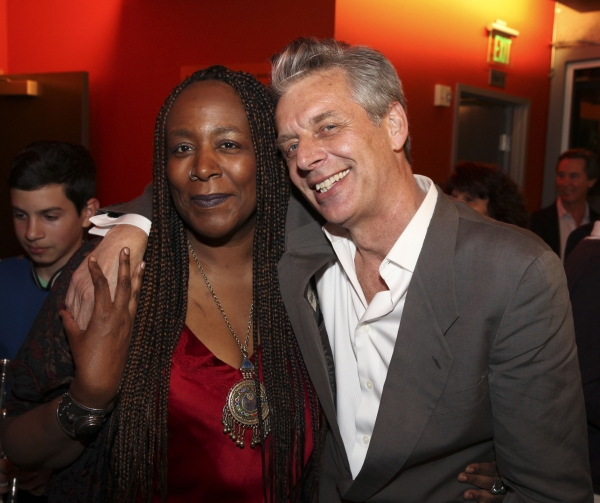 Playwright/performer Dael Orlandersmith and CTG Artistic Director Michael Ritchie