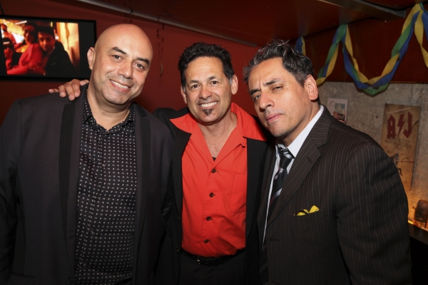Culture Clash members Herbert Siguenza, Ric Salinas and Richard Montoya