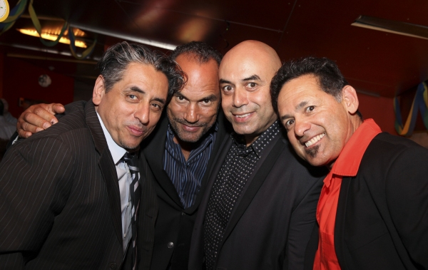 Culture Clash member Richard Montoya, playwright/performer Roger Guenveur Smith and Culture Clash members Herbert Siguenza and Ric Salinas