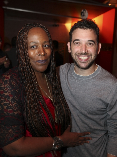 Playwright/performers Dael Orlandersmith and Matt Sax Photo