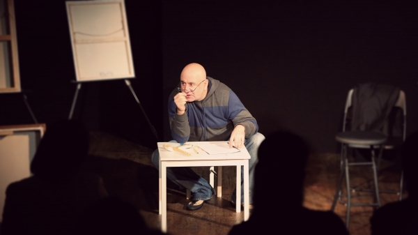 Photo Flash: First Look at Arthur Elbakyan's MY INSANE SHAKESPEARE at United Solo