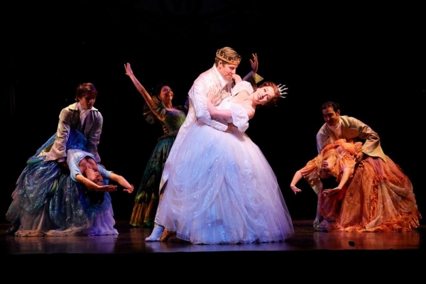 Paige Faure, Andy Jones and the CINDERELLA Broadway company