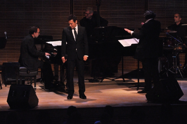 Ted Firth, Michael Feinstein and Charles Prince