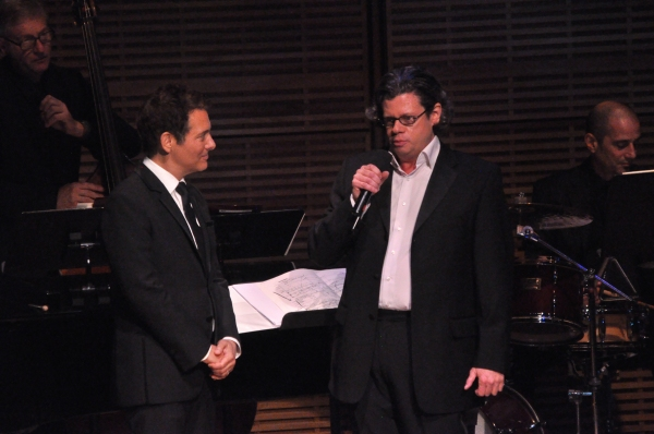 Michael Feinstein and Charles Prince (Music Director and Conductor)