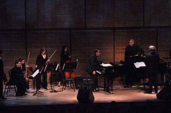 The Orchestra-Robert Zubrycki (Violin), Lorra Baylis (Violin), Jessica Troy (Viola), Stephanie Cumins (Cello), Ted Firth (Piano)