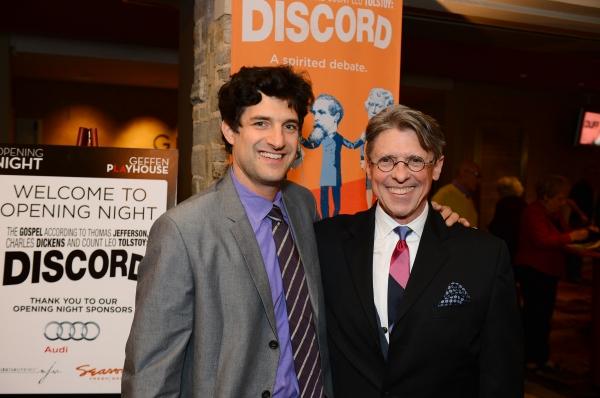 Matt August (Director) and Scott Carter (Playwright)