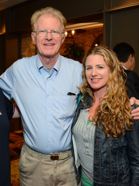 Ed Begley, Jr. and his daughter Amanda Begley Photo