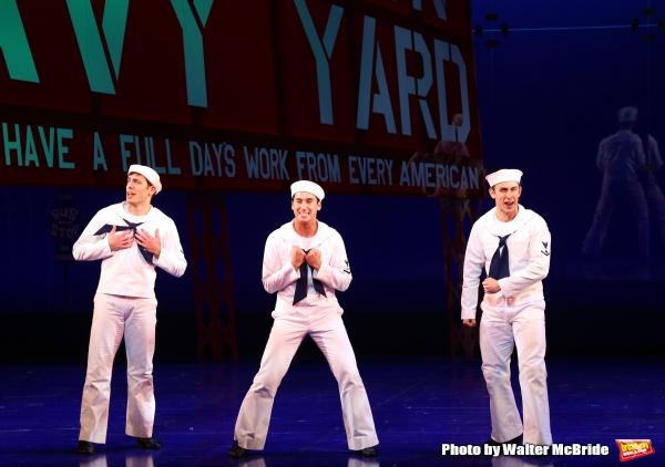 Brandon Leffler, Michael Rosen and Cody Williams