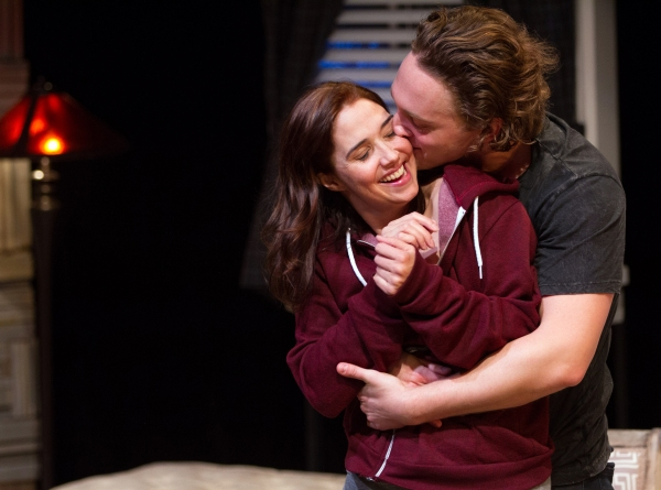 Holly Twyford (Olivia) and Luigi Sotille (Ethan)