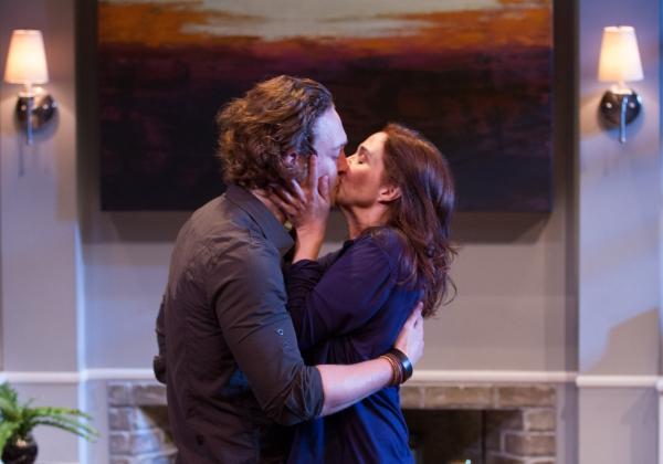 Luigi Sotille (Ethan) and Holly Twyford (Olivia)