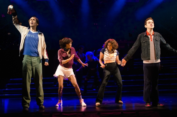 Kyle Beltran, Carla Duren, Rebecca Naomi Jones, and Adam Chanler-Berat