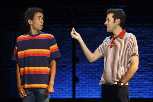 Kyle Beltran and Adam Chanler-Berat