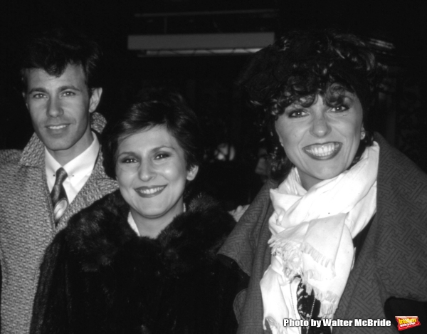 The Manhattan Transfer: Alan Paul, Janis Siegel & Cheryl Bentyne in New York City on November 1, 1985