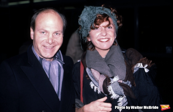 The Manhattan Transfer: Tim Hauser& Cheryl Bentyne in New York City on November 1, 1985