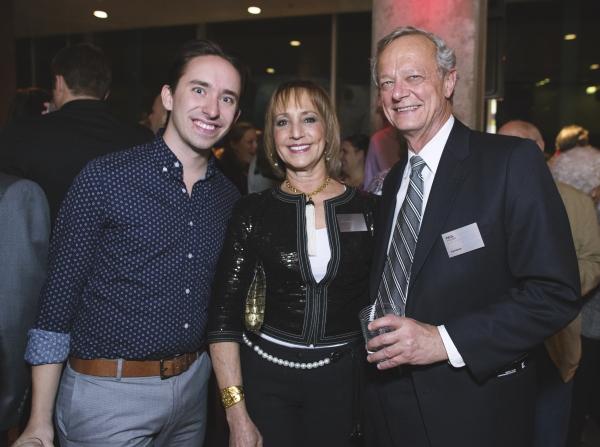 Associate Director Matthew Gardiner, Board Chair Bonnie Feld, and Board Member Paul Wojcik
