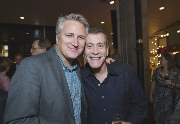 Artistic Director Eric Schaeffer and Bobby Smith