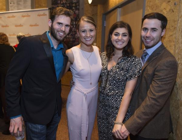 Matthew Shleigh, Lara Zinn, Maria Rizzo, and Nick Lehan Photo
