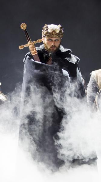 Adam Grabau as King Arthur Photo