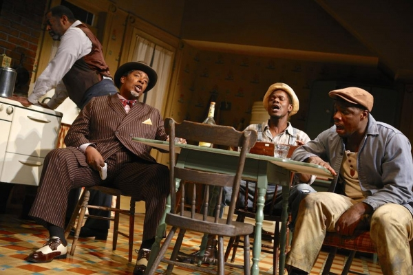 Derrick Lee Weeden (Doaker), G. Valmont Thomas (Wining Boy), Stephen Tyrone Williams  Photo